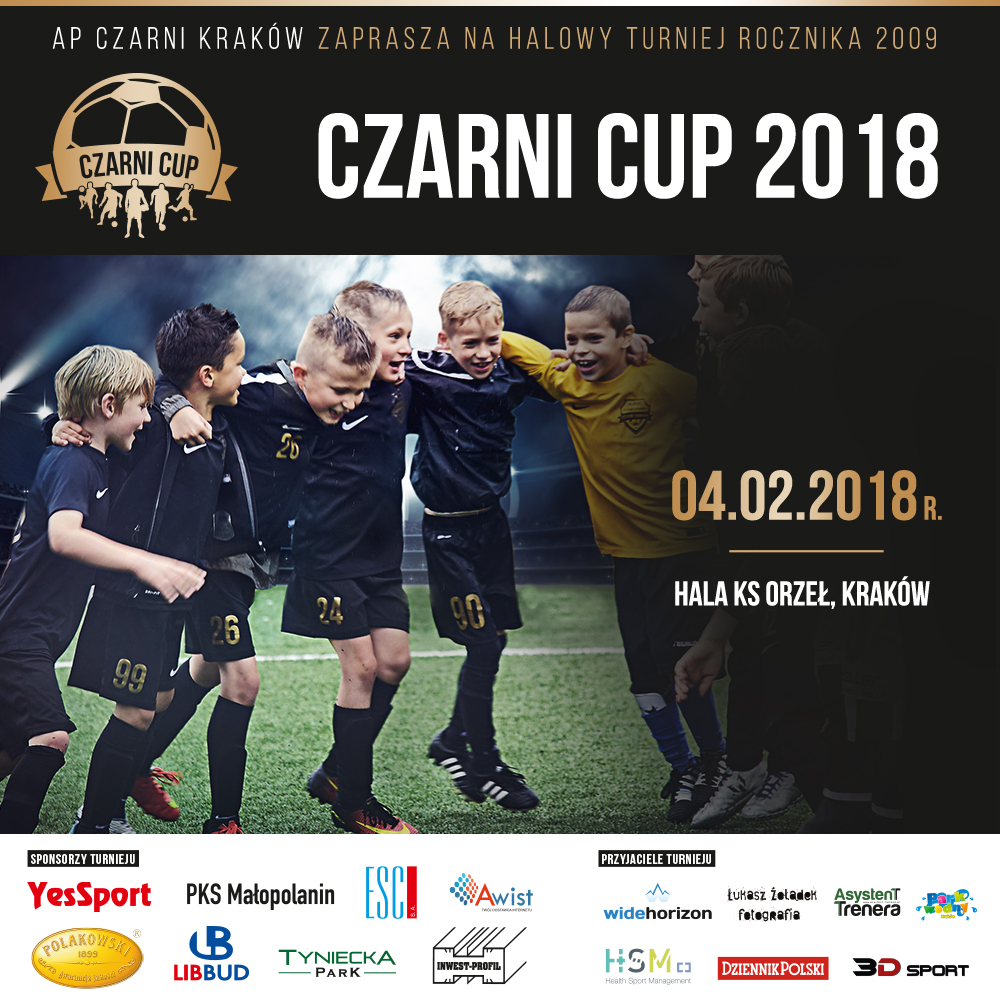 poster CZARNI cup 3
